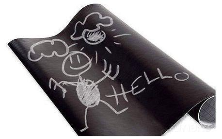 Emako Černá samolepící tabule, 45 x 200 cm