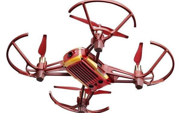 Dron Ryze Tech Tello - Iron Man Edition červený/zlatý2