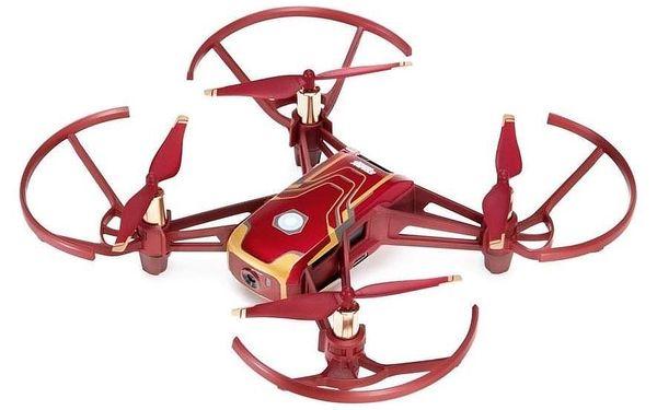 Dron Ryze Tech Tello - Iron Man Edition červený/zlatý3