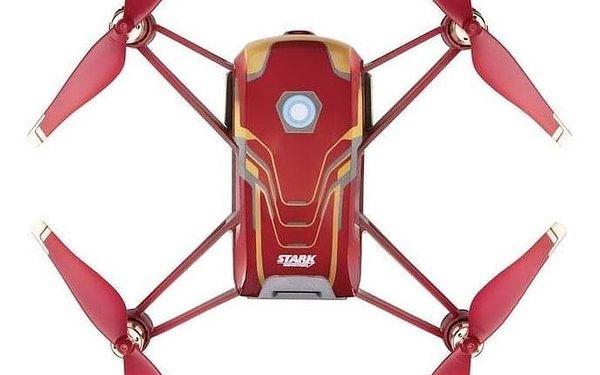 Dron Ryze Tech Tello - Iron Man Edition červený/zlatý4