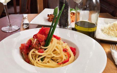 Italské těstoviny pro 2: výběr ze 4 druhů