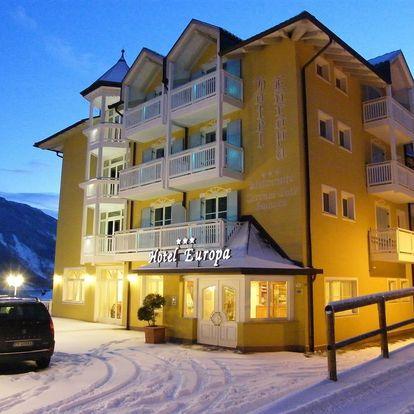 4-8denní Paganella se skipasem | Hotel Europa – Molveno*** | Ubytování, Polopenze a skipas