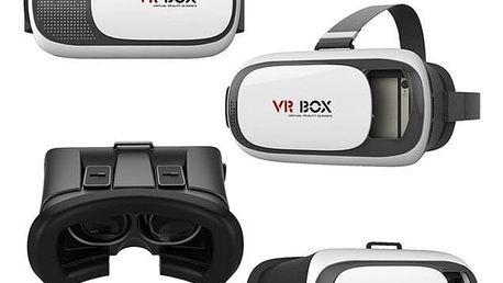 Brýle pro virtuální realitu Aligator VR BOX2 černý/bílý (VRBOX2)