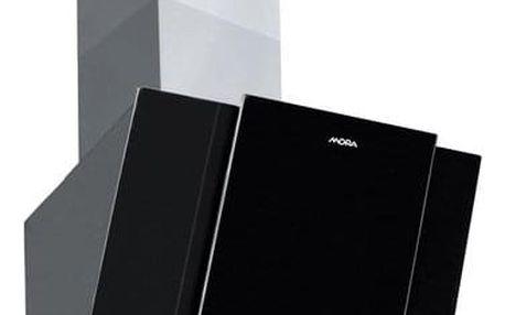 Odsavač par Mora OV 880 G černý/sklo