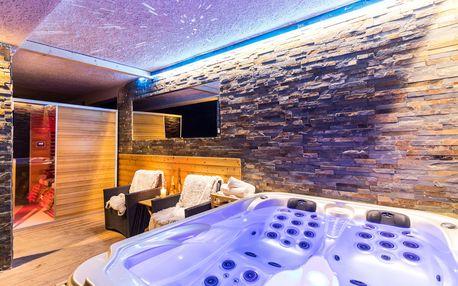 Luxusní relax balíček se soukromým wellness v Moravském krasu