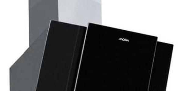 Odsavač par Mora OV 880 G černý/sklo2