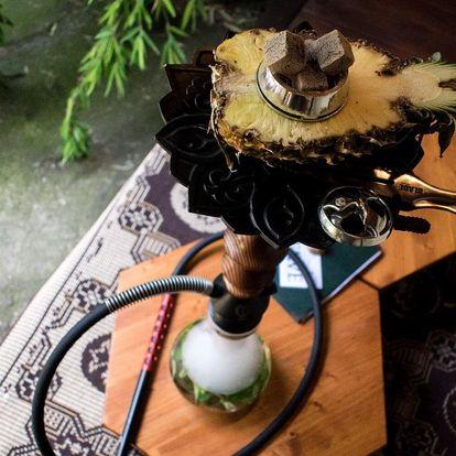 Vodní dýmka s ovocnou korunkou až pro 4 osoby
