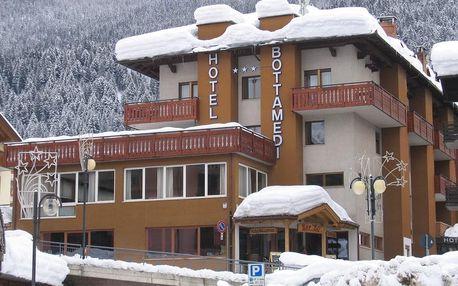 8denní Paganella se skipasem | Hotel Bottamedi*** 80 m na sjezdovku | Ubytování, Polopenze a skipas