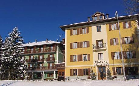 4-8denní Folgaria se skipasem | Hotel Monteverde 4 noci*** | Ubytování, Polopenze a skipas