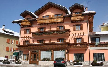 4-8denní Folgaria se skipasem | Hotel Da Villa*** | Ubytování, Polopenze a skipas