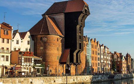 S rodinou do Gdaňsku: apartmán, snídaně i wellness