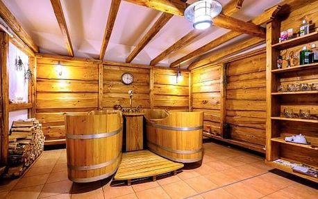 Beskydy: Hotel Pod Akáty v srdci CHKO Beskydy s polopenzí a slevou na pivní lázně