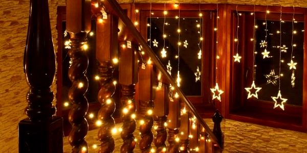 VOLTRONIC® 1223 Vánoční LED osvětlení 20 m - teple bílá 200 LED2