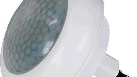 EMOS do zásuvky, 8 x LED s PIR čidlem bílé (1456000040)
