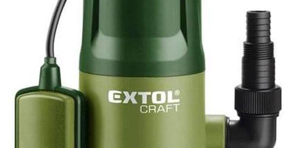 Čerpadlo kalové Extol Craft na znečištěnou vodu, 400W