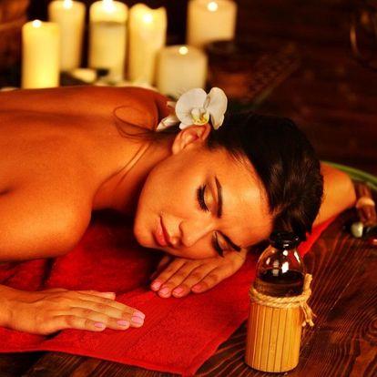 Dopolední relax: hodinová thajská masáž dle výběru