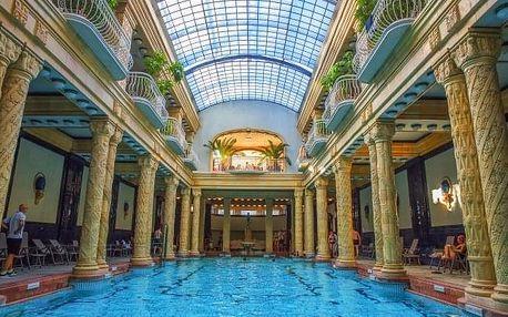 Budapešť u centra v Hotelu Császár *** se snídaní, 2 vyhřívanými bazény a vstupem do termálních lázní Veli Bej