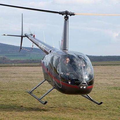 Vyhlídkový let vrtulníkem R44 - 1 osoba