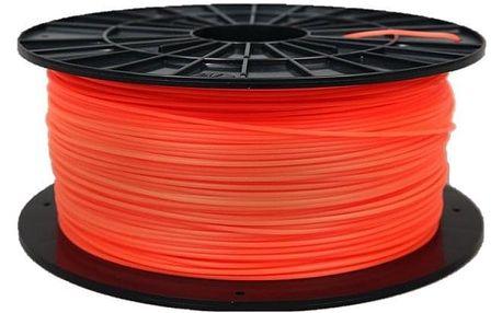 Tisková struna Filament PM 1,75 PLA, 1 kg - fluorescenční oranžová (F175PLA_FO)