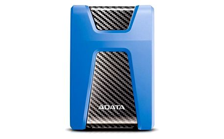 """Externí pevný disk 2,5"""" ADATA HD650 2TB modrý (AHD650-2TU31-CBL)"""