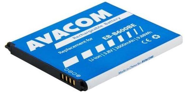 Baterie Avacom pro Samsung Galaxy S4, Li-Ion 2600mAh (náhrada EB-B600BE) (GSSA-i9500-2600A)