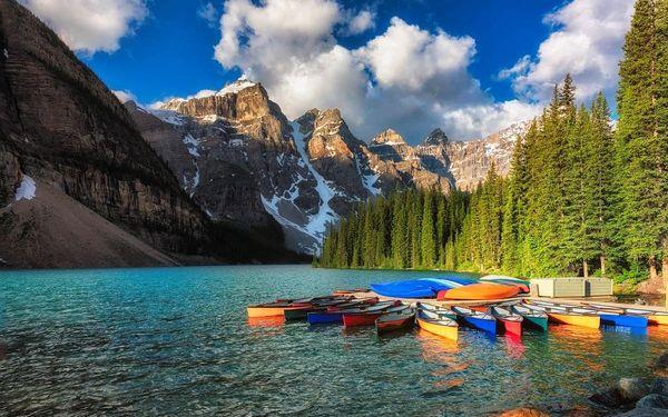 Západní Kanada - cesta divokou kanadskou přírodou, letecky, snídaně v ceně3