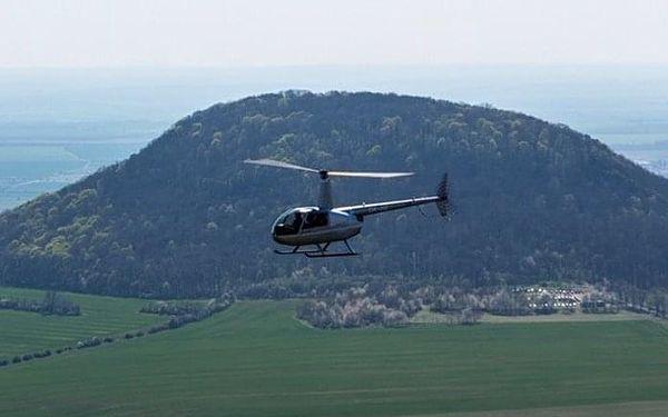 Vyhlídkový let vrtulníkem R44 - 1 osoba   Roudnice nad Labem   celoročně (dle počasí)   6-7minut letu + instruktáž3