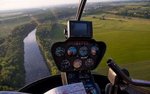 Vyhlídkový let vrtulníkem R44 - 1 osoba   Roudnice nad Labem   celoročně (dle počasí)   6-7minut letu + instruktáž4