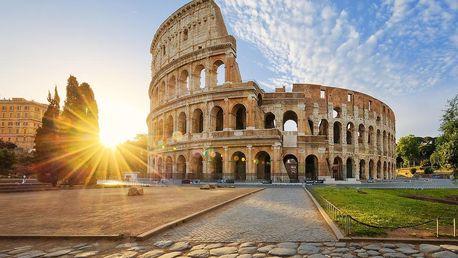 Ubytování v centru Říma, nádherné památky & vynikající italská kuchyně - dlouhá platnost poukazu