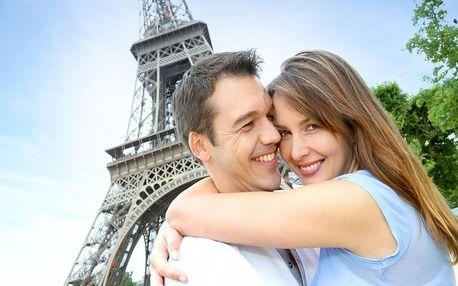 Nádherný víkend v Paříži v hotelu na Seině - dlouhá platnost poukazu