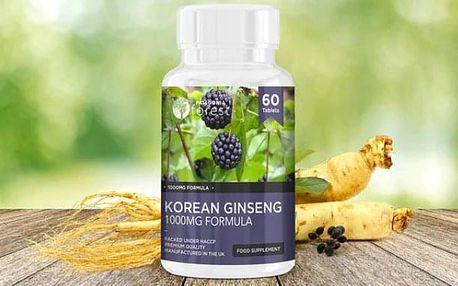 Tablety s korejským ženšenem a Africké mango