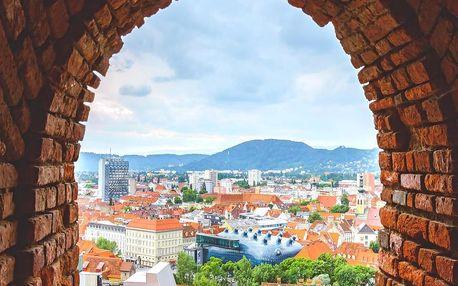 Štýrský Hradec: romantický pobyt v Rakousku - dlouhá platnost poukazu