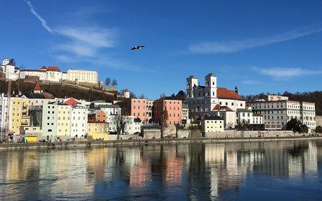 Romantický pobyt v Pasově nedaleko českých hranic - dlouhá platnost poukazu