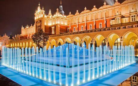 Krakov, město plné pokladů včetně polopenze - dlouhá platnost poukazu