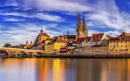 Užijte si romantický pobyt pro 2 v historickém centru Regensburgu - dlouhá platnost poukazu