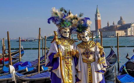 Karneval v Benátkách a ostrovy, Veneto - Benátky