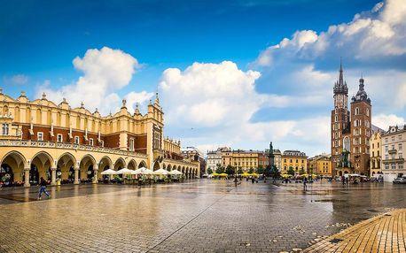 Skvělý pobyt v romantickém Krakově - dlouhá platnost poukazu