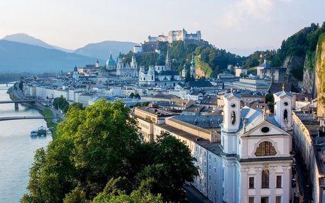 Moderní hotel v centru Salzburgu za skvělou cenu - dlouhá platnost poukazu