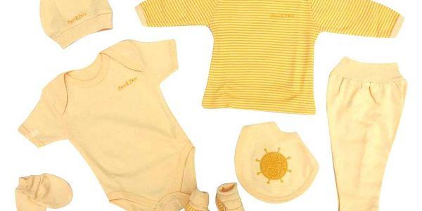 2dílný set pro miminka   Velikost: 9 měsíců   Žlutá5