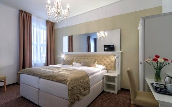 Romantický pobyt pro 2 v elegantním hotelu v centru Prahy 3 dny / 2 noci, 2 os., snídaně3