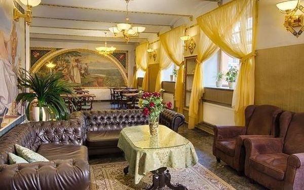 Romantický pobyt pro 2 v elegantním hotelu v centru Prahy 3 dny / 2 noci, 2 os., snídaně4
