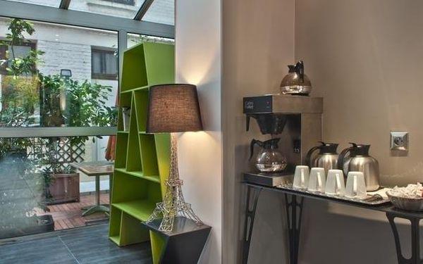 Romantický pobyt v Paříži v hotelu se 100% doporučením 3 dny / 2 noci, 2 os., snídaně3