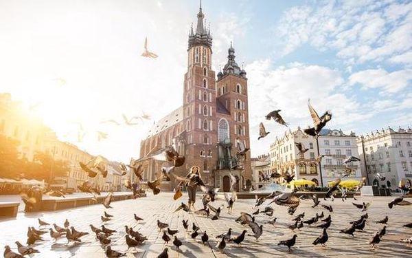 Krakov, město plné pokladů včetně polopenze 3 dny / 2 noci, 2 os., polopenze4