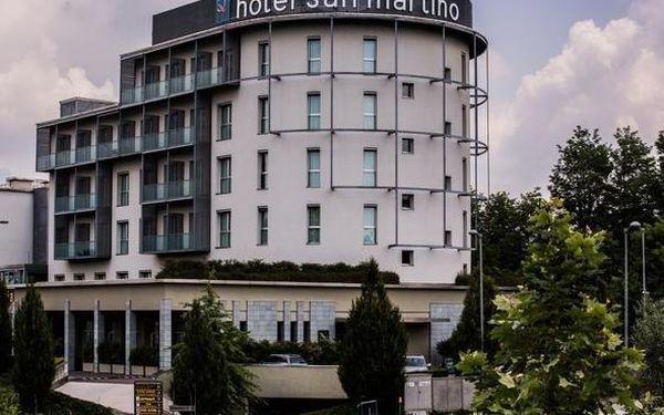 Moderní hotel nedaleko Milána se 100% hodnocením 3 dny / 2 noci, 2 os., snídaně4