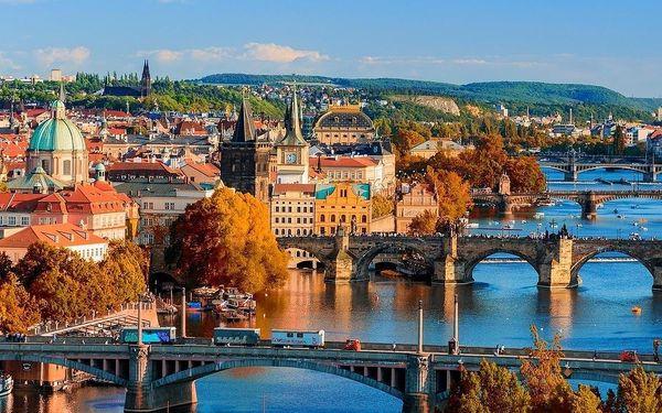 Romantická Praha - prvotřídní hotel s bazénem včetně POLOPENZE