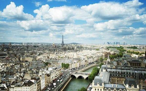 Kouzelný víkend v Paříži v hotelu se skvělou polohou 3 dny / 2 noci, 2 os., snídaně3