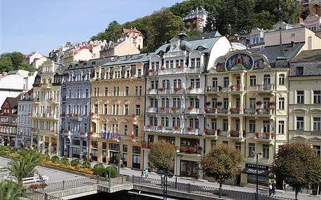 Karlovy Vary na 6-8 dnů, polopenze