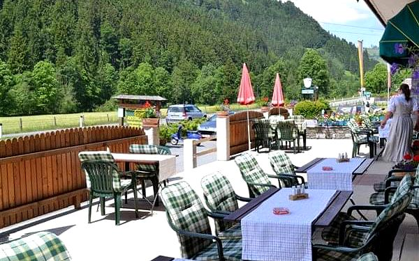 AURACH - Aurach bei Kitzbühel, Tyrolsko, vlastní doprava, polopenze3