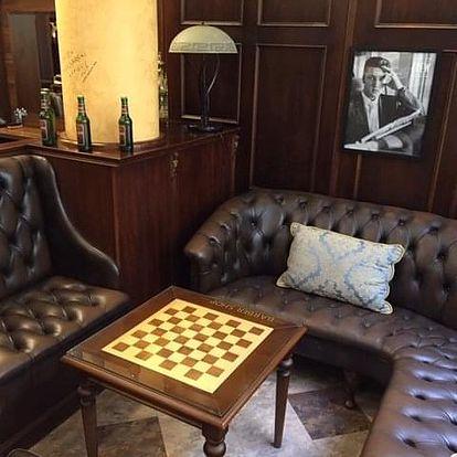Luxusní hýčkání pro pány v Barbershopu včetně kávy a rumu