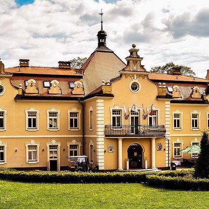 Pobyt na zámku Berchtold se snídaní a vínem